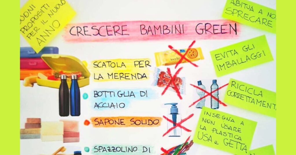 """7 abitudini per crescere bambini """"GREEN"""""""