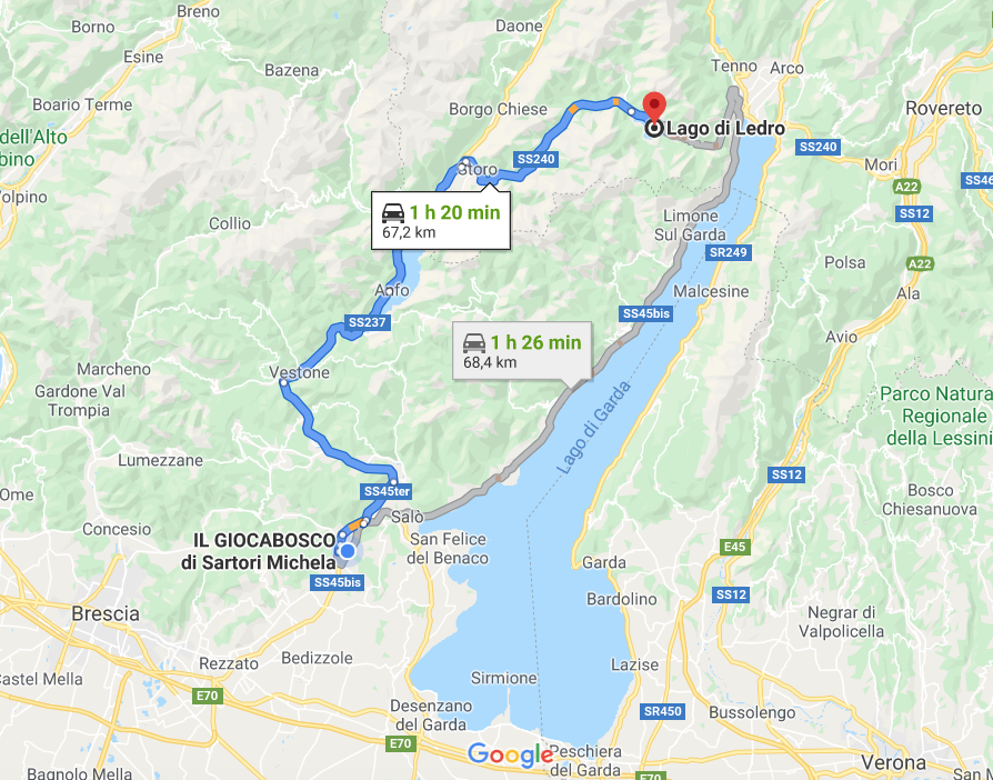 Gita a Giocabosco e al Lago di Ledro